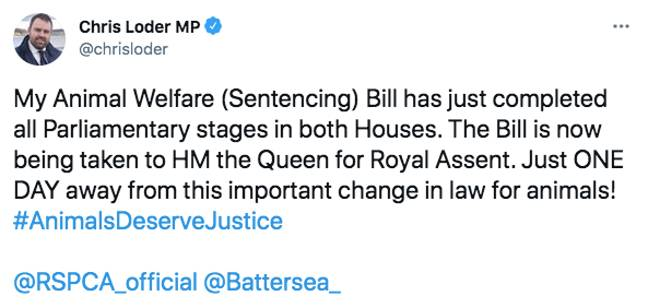 The new law will carry tougher sentencing (Credit: Twitter)