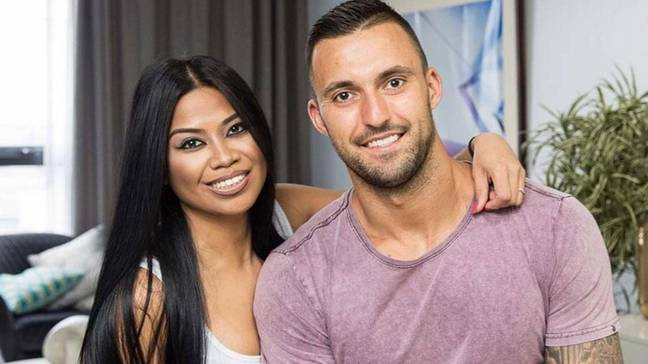 Nic and Cyrell were married on the show (Credit: Nine Network)