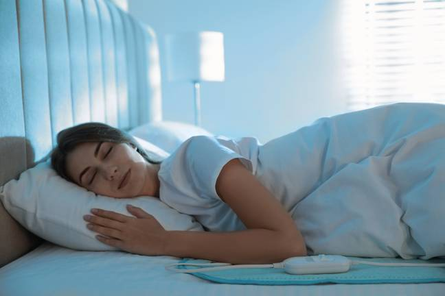 Using a heated blanket for a prolonged period can also cause Toasted Skin Syndrome (Credit: Shutterstock)