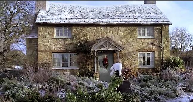 Unfortunately the real Rosehill Cottage doesn't exist. Credit: Universal Pictures