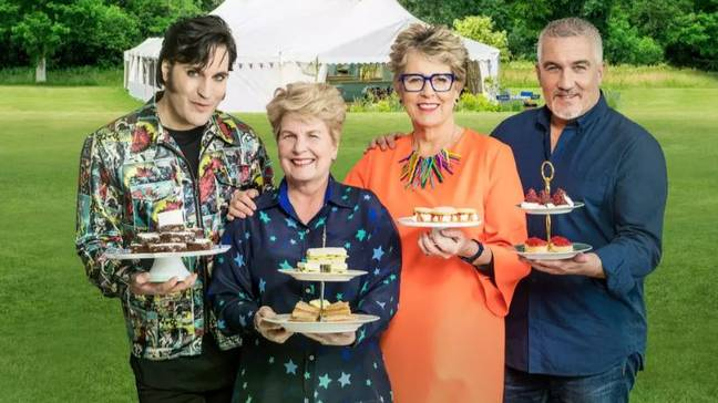 Channel 4's 'Bake Off' is available on All 4