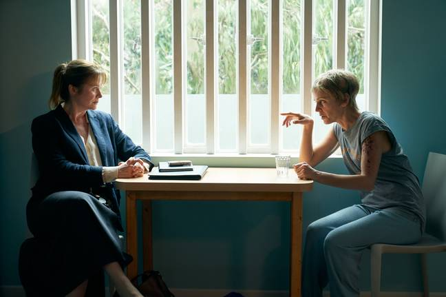The new psychological thriller stars Emily Watson and Denise Gough (Credit: ITV)