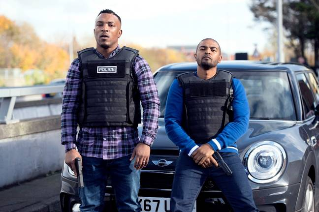 Ashley Walters and Noel Clarke are hoping their show will inspire change (Credit: Sky)