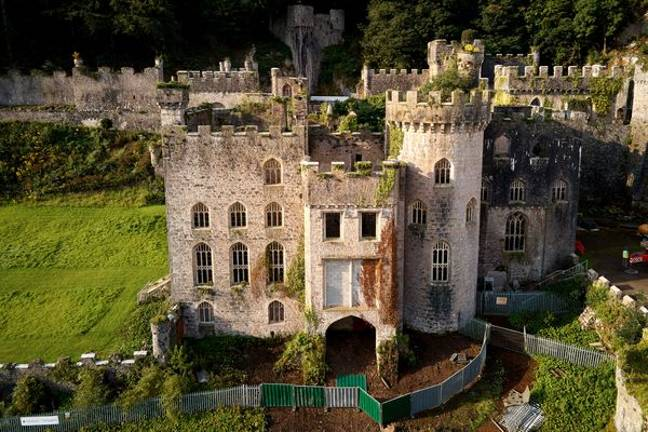 This year's 'I'm a Celeb' was set in Gwrych Castle, north Wales (Credit: Shutterstock)