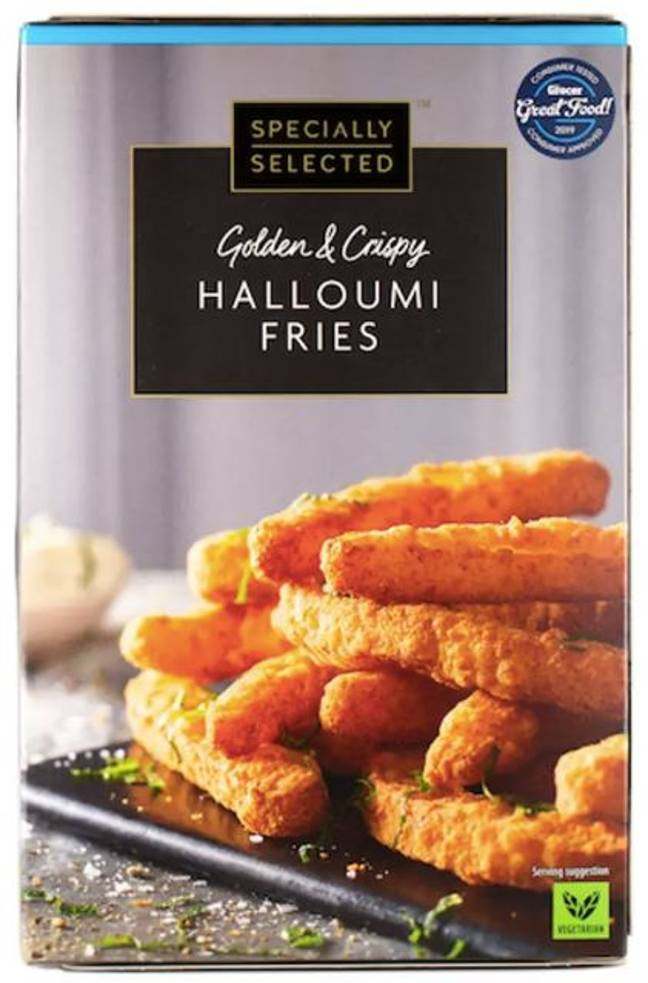 The burger comes hot on the heels of the return of Aldi's beloved Halloumi Fries. (Credit: Aldi)