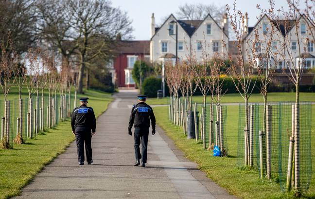 Police are patrolling parks to ensure people are keeping the rules (Credit:PA)