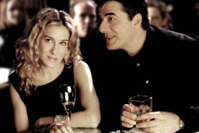 Carrie Bradshaw and Mr Big in Sex and the City (Credit: HBO)