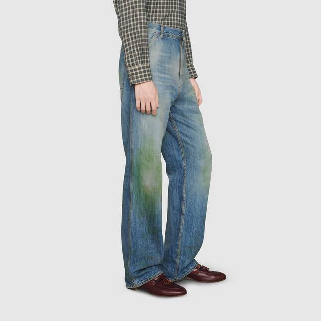 Fancy spending six big ones on grass stained jeans? (Credit: Gucci)