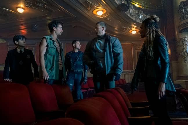 Aidan Gallagher, Ellen Page, Emmy Raver-Lampman, Tom Hopper, David Castañeda, Justin H. Min and Robert Sheehan are set to return (Credit: Netflix)