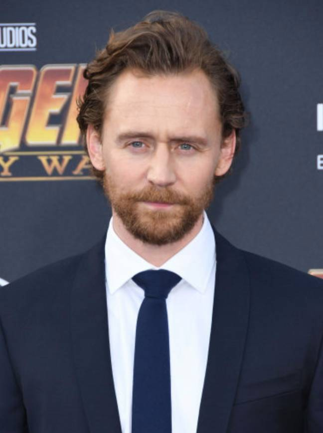 Tom Hiddleston at the Avengers: Infinity War premiere in 2018 (Credit: PA)