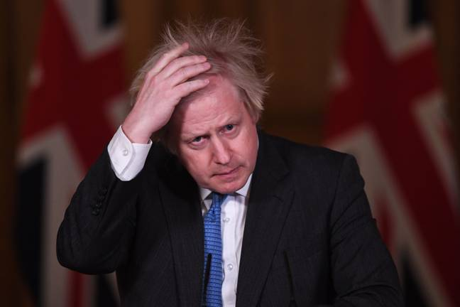 Boris Johnson struggled to pronounce a certain medication during the coronavirus briefing (Credit: PA Images)