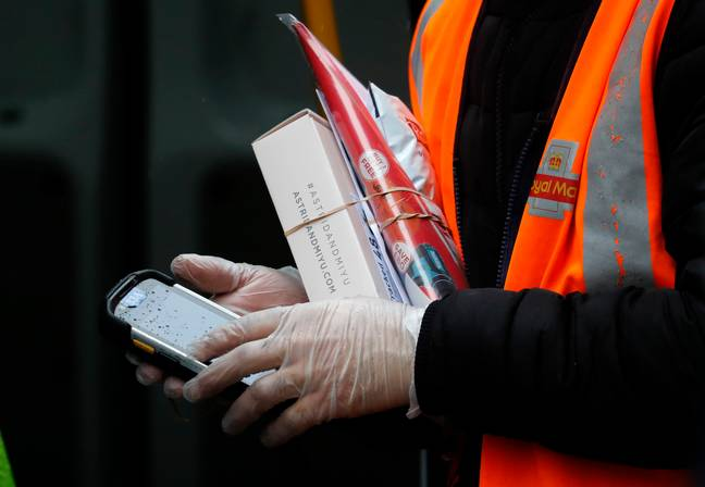 Royal Mail are taking measures to prevent the spread of germs (Credit: PA)