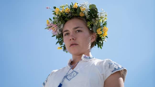 Midsommar was Florence Pugh's break-out role (Credit: A24)
