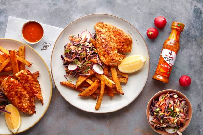 You could opt for butterfly chicken with sides (Credit: Nando's)
