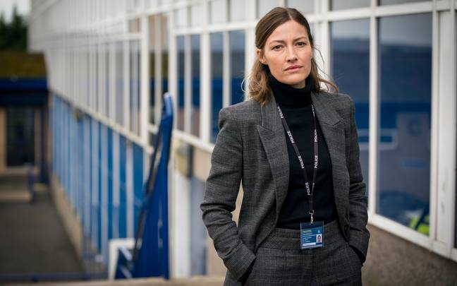 The team begin to investigate DCI Joanne Davidson, played by Kelly Macdonald (Credit: BBC)