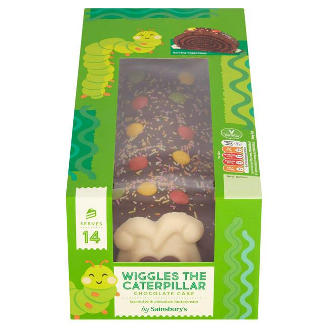 Wiggles the Caterpillar was our winner (Credit: Sainsbury's)