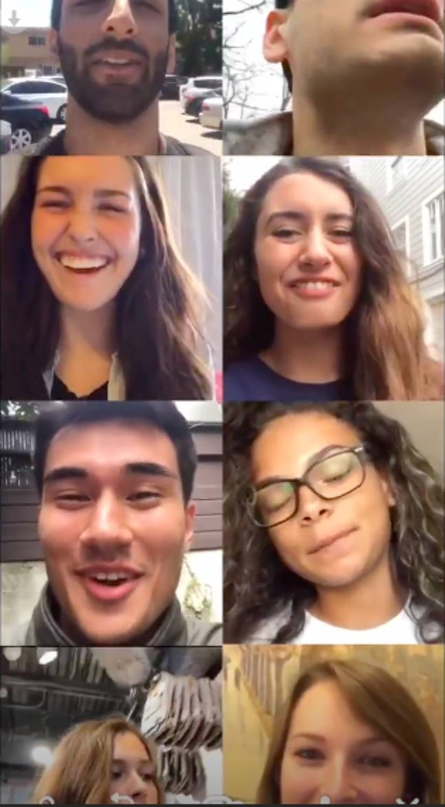 The Houseparty app has become a firm favourite for many (Credit: Houseparty)