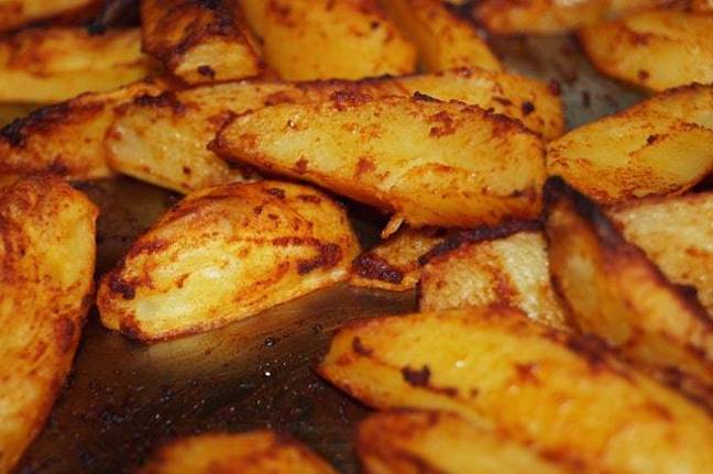 Roast potatoes took second place in the Twitter poll (Credit: Pexels)