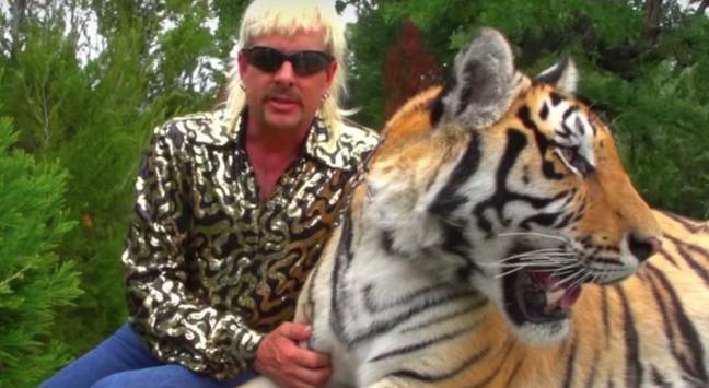 Joe Exotic is best known for starring in Tiger King (Credit: Netflix)
