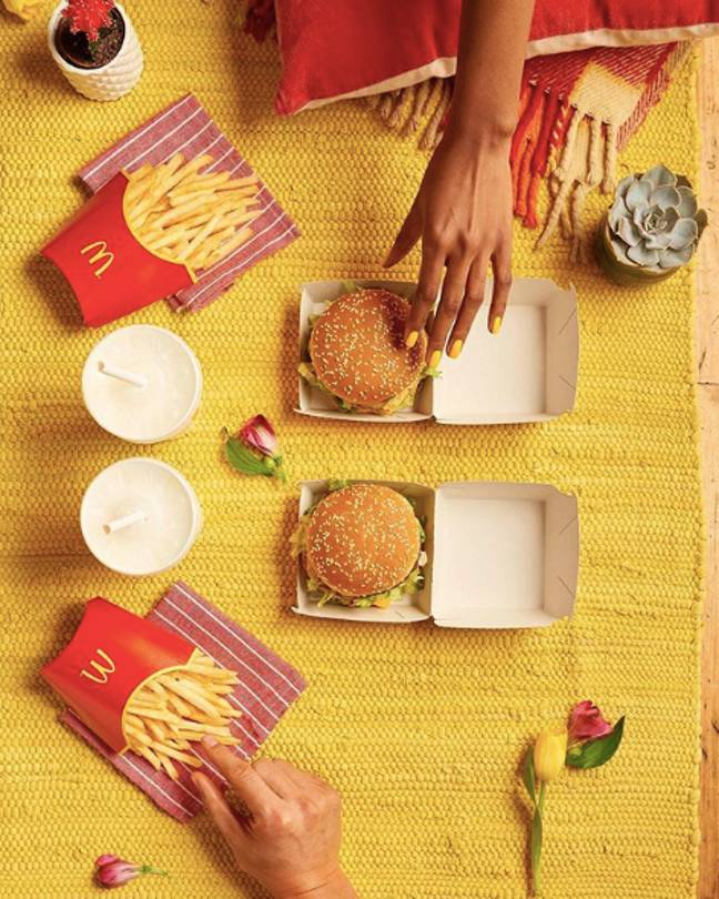 Maccies trip, anyone?! (Credit: Instagram/ McDonaldsUK)