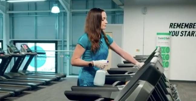 Staff will clean down kit regularly (Credit: PureGym)
