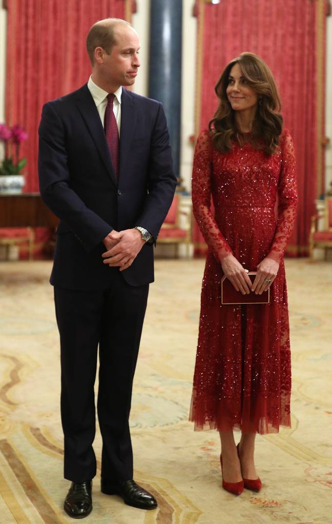 William spoke about the proposal during an event at Buckingham Palace (Credit:PA)