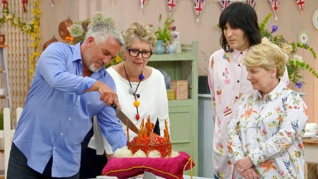 Matt will be replacing Sandi on the judges panel (Credit: BBC)