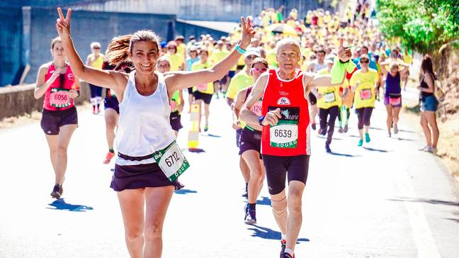 In the time spent watching Love Island, you could have run 19.5 marathons (if you run at average speed) (Credit: Pexels)