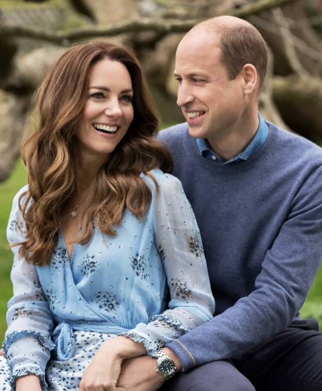 William and Kate sent their congratulations on social media (Credit: Duke and Duchess of Sussex)