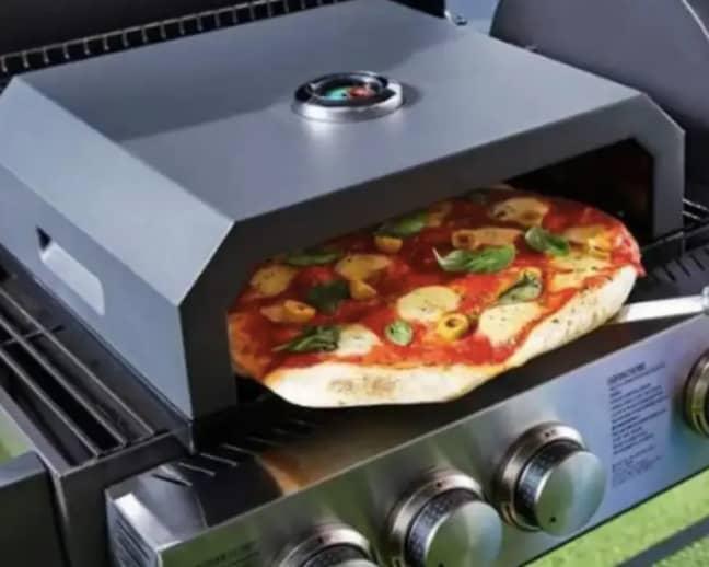 Aldi's pizza oven is also in high demand (Credit: Aldi)