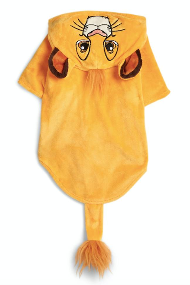 This Simba costume will no doubt fly off the shelves (Credit: Primark)