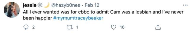 My Mum Tracy Beaker made fans feel very nostalgic (Credit: Twitter)