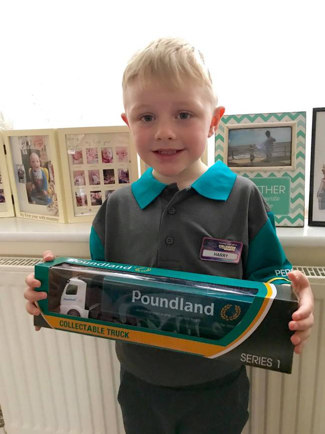 A local Poundland sent the superfan a fresh new uniform (Credit: Facebook - Melanie Lord)