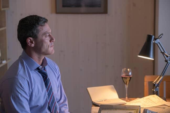 Luke Evans stars in The Pembrokeshire Murders as Senior Investigating Officer Steve Wilkins (Credit: ITV)