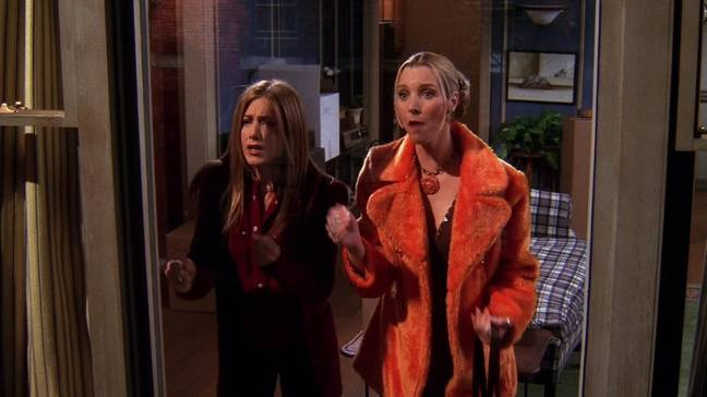 Who could forget when Rachel and Phoebe clock Monica and Chandler? (Credit: Warner Bros)