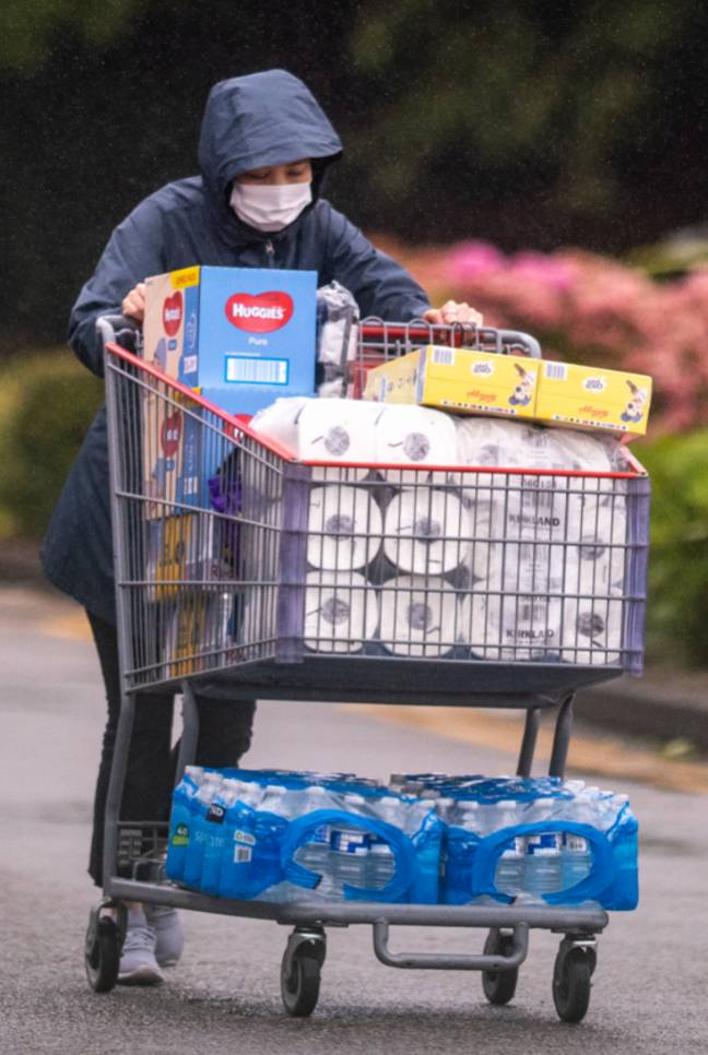 Shops are discouraging panic buying (Credit: PA)
