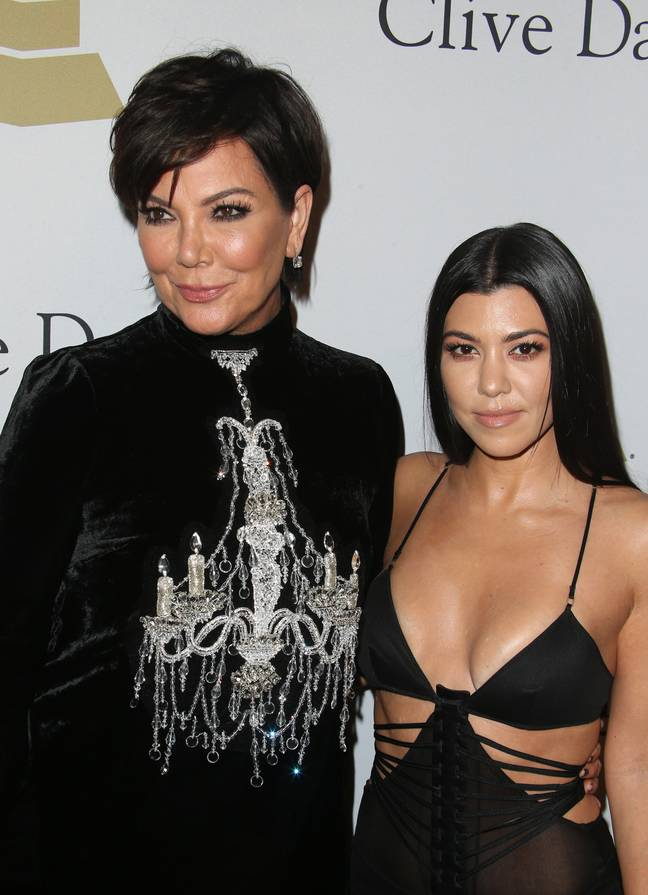 Kris and Kourtney have categorically denied the claims (Credit: PA)
