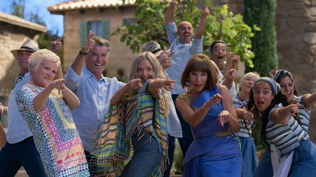 Julie said she would do a third 'Mamma Mia' movie (Credit: Universal Pictures)