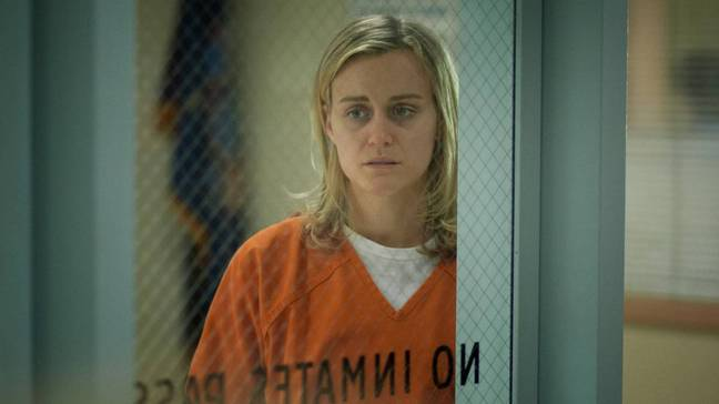 Taylor is known for her performance as Litchfield Penitentiary prisoner Piper Chapman in Netflix's Orange is the New Black (Credit: Netflix)