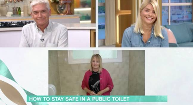 The presenters looked bemused at the segment (Credit: ITV)