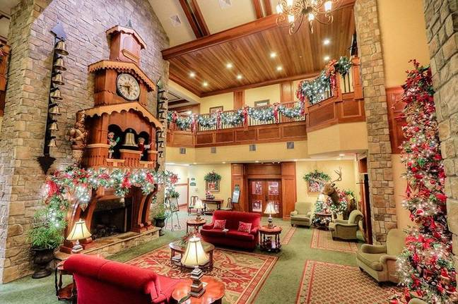 Inside The Inn at Christmas Place (Credit: The Inn at Christmas Place)