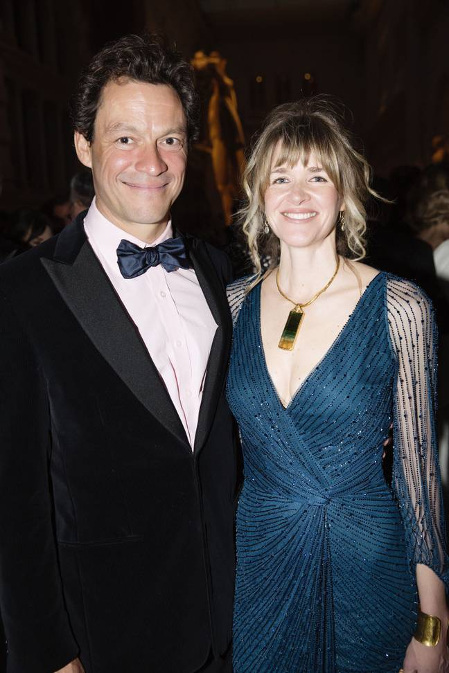 Dominic West has confirmed him and wife Catherine are 'strong' (Credit: Shutterstock)
