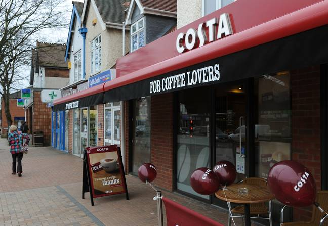 Costa's new autumn menu will include Bonfire Spiced Lattes and Biscoff Muffins Credit: PA
