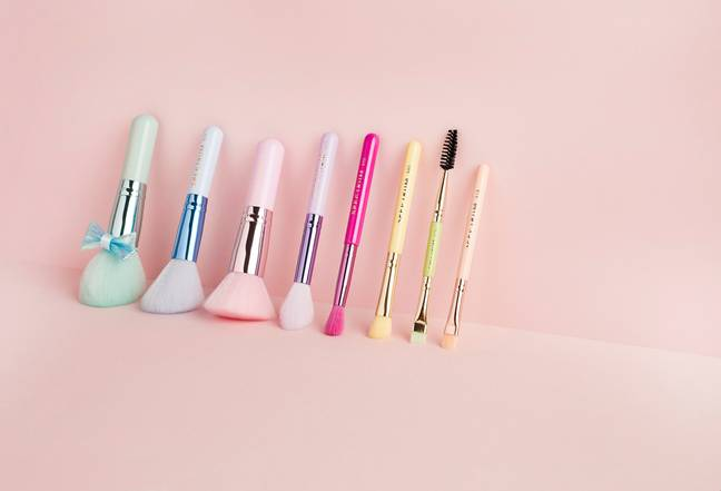 The travel-sized brushes are perfect for staycations, holidays or when you're on-the-go! (Credit: Spectrum Collections)