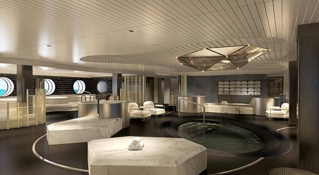 For passengers who want some relaxation there is a spa on board too. (Credit: Virgin Voyages)