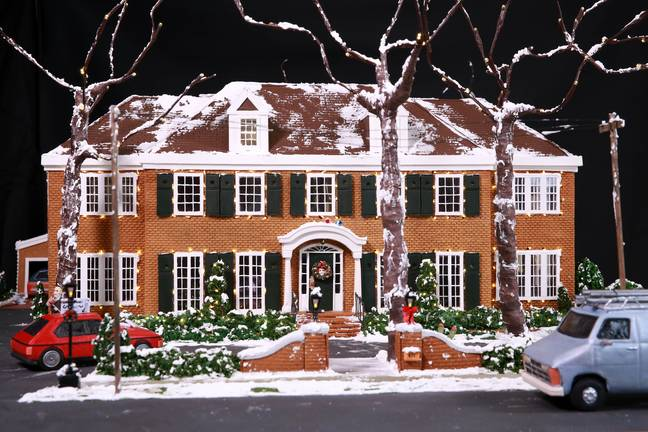 The house is made entirely by gingerbread (Credit: PA Images)