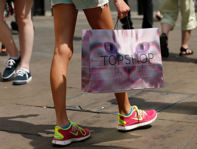 Topshop, once queen of high street cool, may be forced to shut down (Credit: PA)