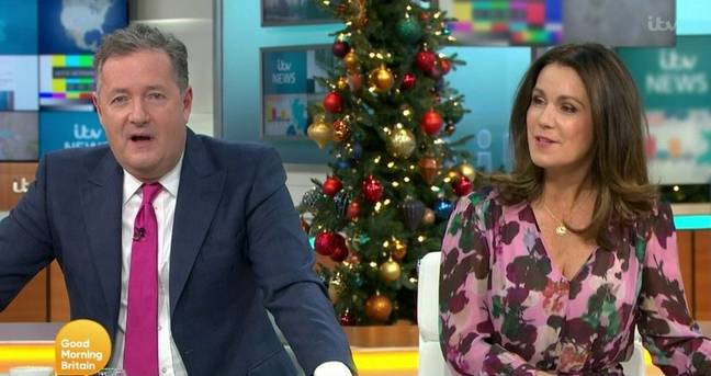 Piers apologised for breaking Covid rules this morning (Credit: ITV)