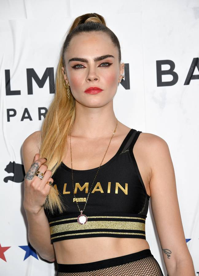 Cara is known for her outlandish attitude (Credit: PA Images)