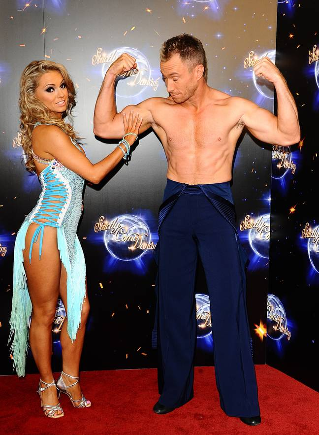Ola and James Jordan both used to work as professional dancers on Strictly Credit: PA